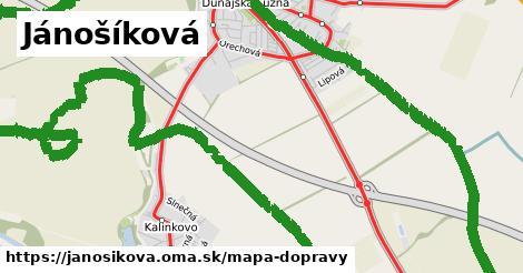 ikona Mapa dopravy mapa-dopravy  janosikova