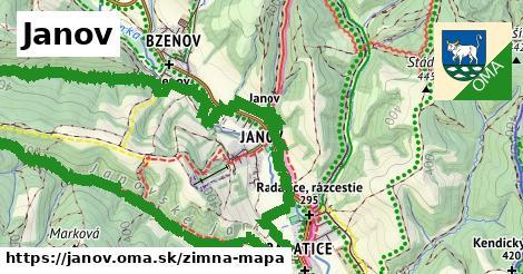ikona Zimná mapa zimna-mapa v janov
