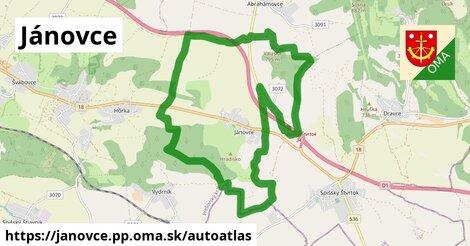 ikona Mapa autoatlas  janovce.pp