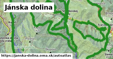 ikona Mapa autoatlas  janska-dolina