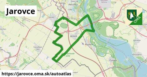 ikona Mapa autoatlas  jarovce