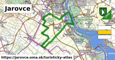 ikona Turistická mapa turisticky-atlas  jarovce