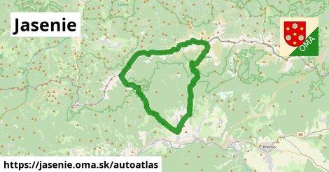 ikona Mapa autoatlas  jasenie