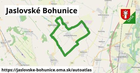 ikona Mapa autoatlas  jaslovske-bohunice