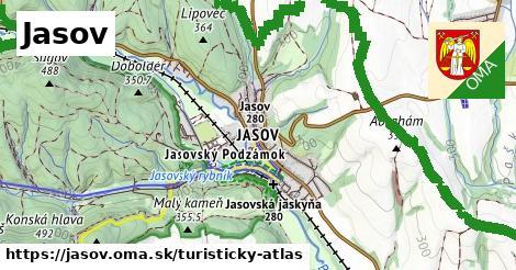 ikona Turistická mapa turisticky-atlas  jasov