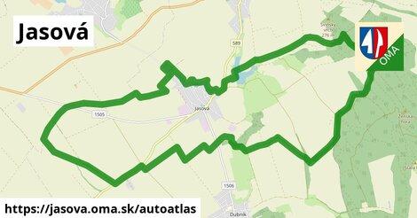 ikona Mapa autoatlas  jasova