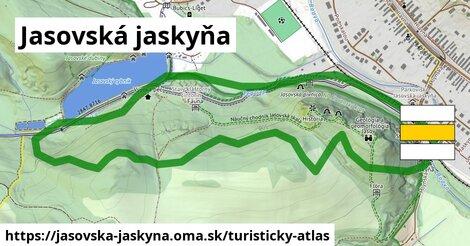 ikona Jasovská jaskyňa: 4,0km trás turisticky-atlas  jasovska-jaskyna