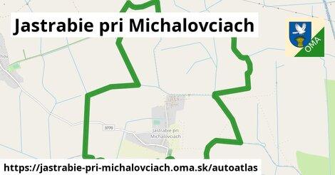 ikona Mapa autoatlas  jastrabie-pri-michalovciach