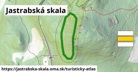 ikona Turistická mapa turisticky-atlas  jastrabska-skala