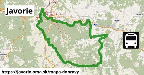 ikona Mapa dopravy mapa-dopravy  javorie