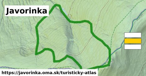 ikona Turistická mapa turisticky-atlas  javorinka