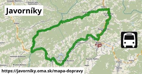 ikona Mapa dopravy mapa-dopravy  javorniky