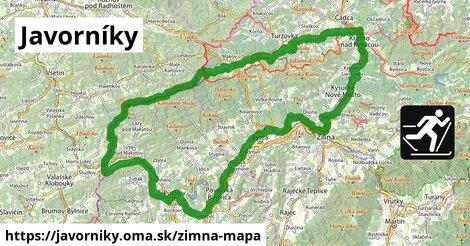 ikona Zimná mapa zimna-mapa  javorniky