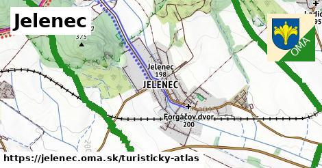 ikona Jelenec: 18km trás turisticky-atlas  jelenec