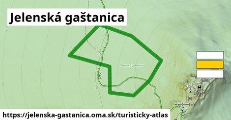 ikona Turistická mapa turisticky-atlas  jelenska-gastanica