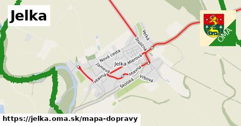 ikona Mapa dopravy mapa-dopravy  jelka