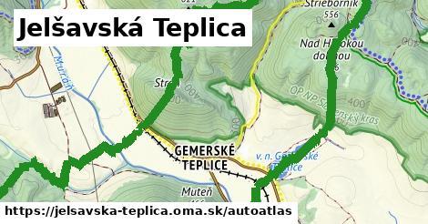 ikona Mapa autoatlas  jelsavska-teplica