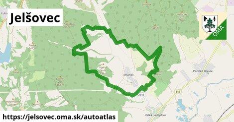 ikona Mapa autoatlas  jelsovec