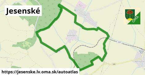ikona Mapa autoatlas  jesenske.lv