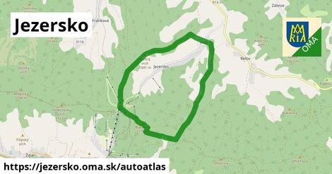 ikona Mapa autoatlas  jezersko