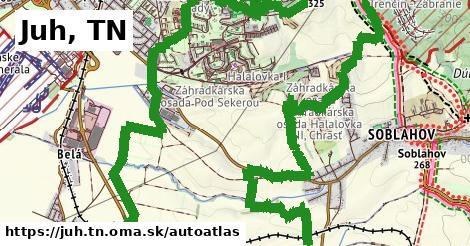 ikona Mapa autoatlas  juh.tn