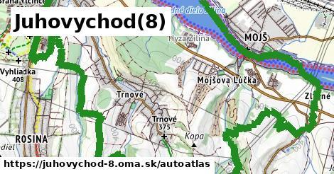 ikona Mapa autoatlas  juhovychod-8
