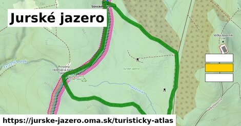 ikona Turistická mapa turisticky-atlas  jurske-jazero