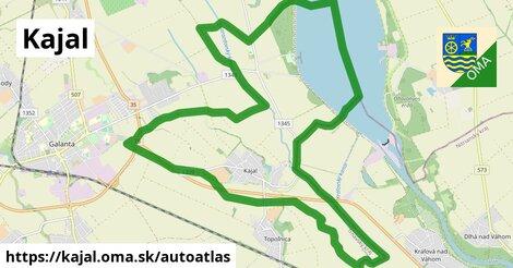 ikona Mapa autoatlas  kajal