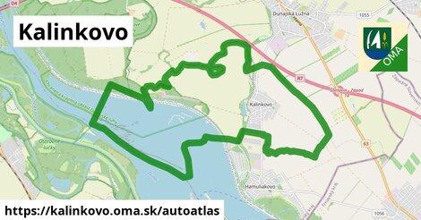 ikona Mapa autoatlas  kalinkovo