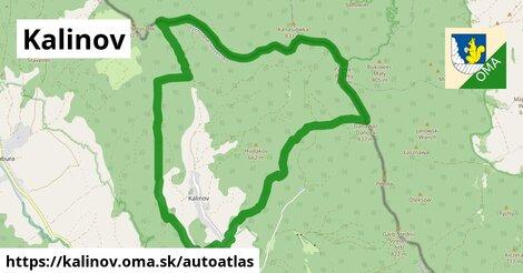 ikona Mapa autoatlas  kalinov