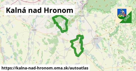 ikona Mapa autoatlas  kalna-nad-hronom
