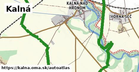ikona Mapa autoatlas  kalna