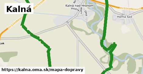 ikona Mapa dopravy mapa-dopravy  kalna