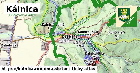 ikona Turistická mapa turisticky-atlas  kalnica.nm