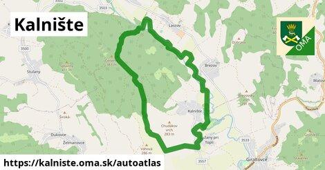 ikona Mapa autoatlas  kalniste