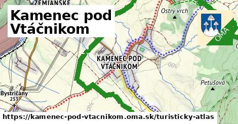 ikona Turistická mapa turisticky-atlas  kamenec-pod-vtacnikom