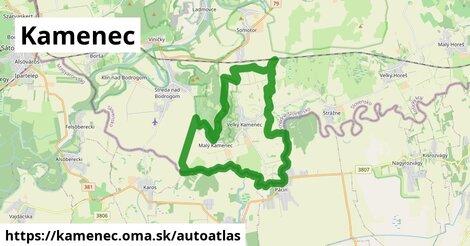 ikona Mapa autoatlas  kamenec