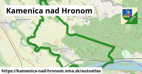 ikona Mapa autoatlas  kamenica-nad-hronom