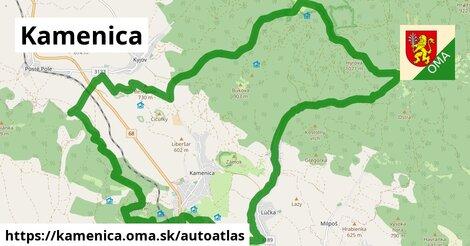 ikona Mapa autoatlas  kamenica