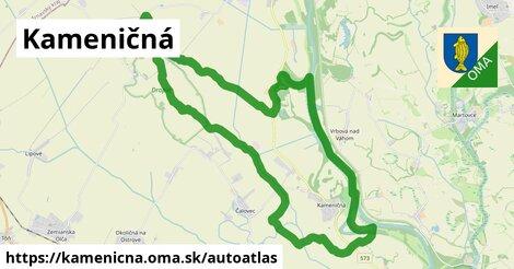 ikona Mapa autoatlas  kamenicna