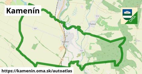 ikona Mapa autoatlas  kamenin