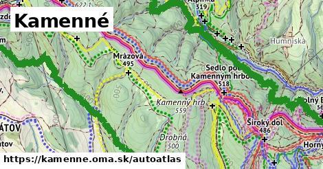 ikona Mapa autoatlas  kamenne