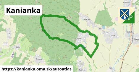 ikona Mapa autoatlas  kanianka