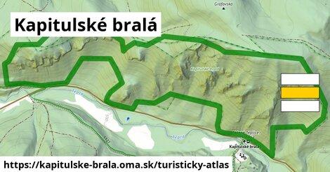 ikona Turistická mapa turisticky-atlas  kapitulske-brala