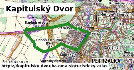 ikona Kapitulský Dvor: 1,21km trás turisticky-atlas v kapitulsky-dvor.ba
