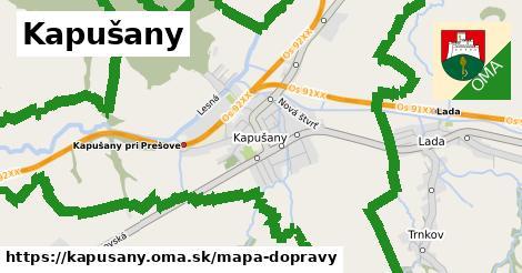 ikona Mapa dopravy mapa-dopravy  kapusany