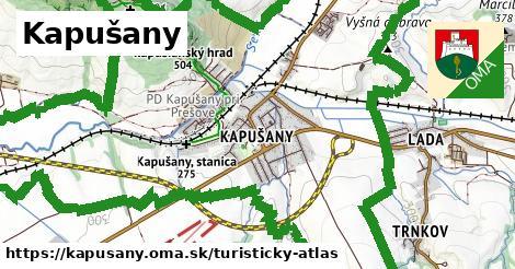 ikona Turistická mapa turisticky-atlas v kapusany