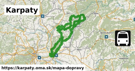 ikona Mapa dopravy mapa-dopravy  karpaty