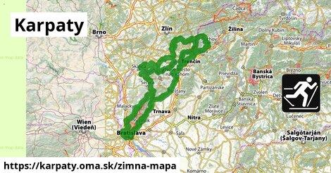 ikona Zimná mapa zimna-mapa  karpaty