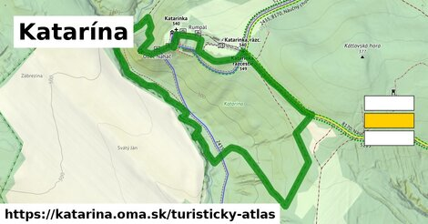 ikona Turistická mapa turisticky-atlas  katarina